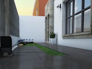 Rehabilitación residencia:  de estilo  por SPACIO DISEÑO Y CONSTRUCCION