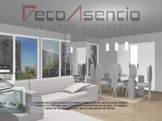 Proyecto Atico en zona de costa:  de estilo  de Deco Asensio