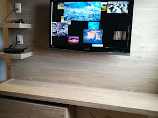 MTD Mexico Multimedia roomFurniture Engineered Wood Beige