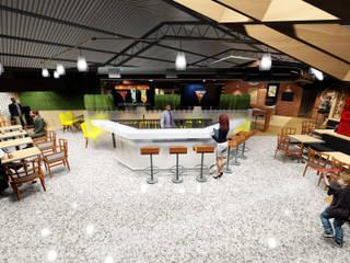 Panadería Andina de Loft estudio C.A. Moderno