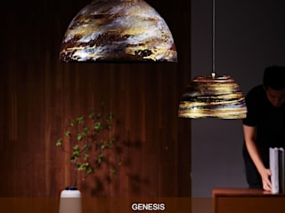 GENESIS / PENDANT LIGHT:   by KUO YU LIGHTING