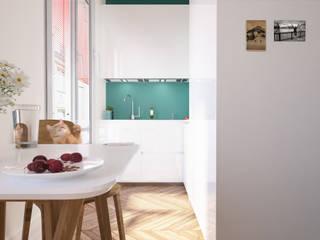 ห้องครัว by laib architecture