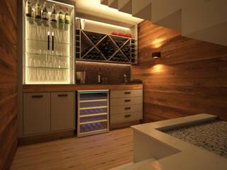 Fernanda Quelhas Arquitetura Wine cellar