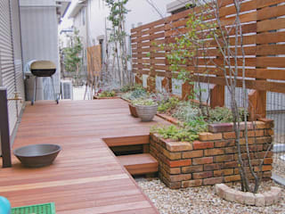 落ち着きを放つ景観。: GAZON~ガゾン~が手掛けた庭です。