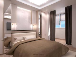 Minimalist bedroom by Студия Ксении Седой Minimalist