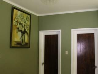 TP618 pintu kayu Parket Green
