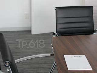 TP618 Modern study/office Solid Wood White