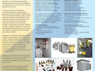 apresentaçao 05 Reger Reformas e Instalações