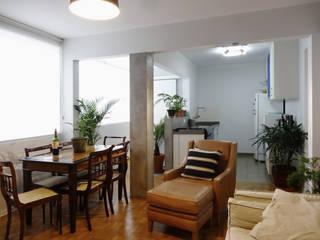 Projeto CFL - Reforma de apartamento / interiores por RC|a+d Arquitetura Moderno