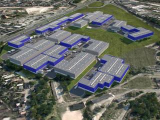 Industriële kantoorgebouwen van Arquitetura Sônia Beltrão & associados Industrieel