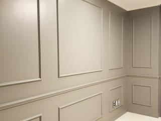 분당 아이파크 65PY: thedesigns의  침실