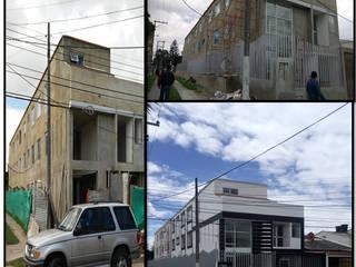 CASAS MODELIA.: Casas de estilo  por CELIS & CELIS INGENIEROS CONSTRUCTORES S.A.S, Minimalista