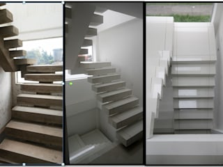 Modern Corridor, Hallway and Staircase by CELIS & CELIS INGENIEROS CONSTRUCTORES S.A.S Modern