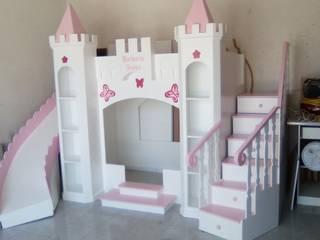 Litera Castillo de princesa de Camas infantiles the Woodpecker Moderno