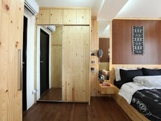Rustic Apartment : rustic  by a+Plan Architect and Interior Works , Rustic