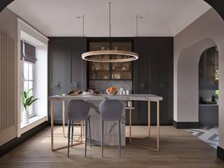 Обложка профиля: Кухни в . Автор – Make Interiors,