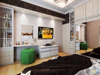MASTER BEDROOM Kamar Tidur Modern Oleh Widhendra interior Modern