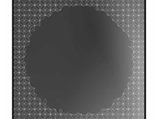 Alguacil & Perkoff Ltd. ВітальняАксесуари та прикраси Скло Металевий / срібло