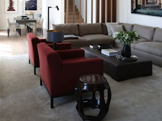 S3 - Penthouse at Park tredup Design.Interiors Living roomSide tables & trays