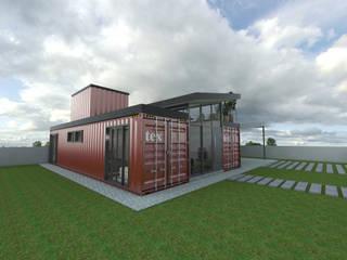 Residência em Containers - Bombinhas/SC por Petillo Arquitetura Moderno