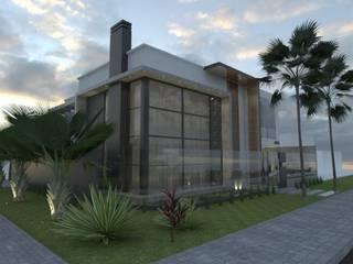 PROJETO ARQUITETÔNICO RESIDENCIAL Casas modernas por Petillo Arquitetura Moderno