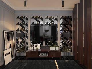 Livings de estilo clásico de SK- Sokolova design & Kogut Stroy Clásico