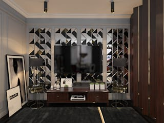 Квартира fashion стилиста Гостиная в классическом стиле от SK- Sokolova design & Kogut Stroy Классический