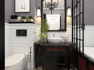 Baños de estilo clásico de SK- Sokolova design & Kogut Stroy Clásico