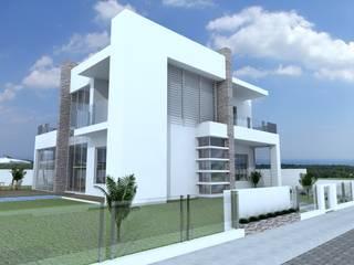 Residencia Unifamiliar - SCHUTZ: Casas familiares  por Cadu Martins Arquiteto e Urbanista,Moderno