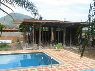 CASA VACACIONAL EN EL CARIBE: Anexos de estilo  por Proyectonica