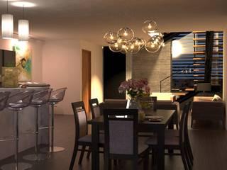 V Arquitectura Modern Dining Room