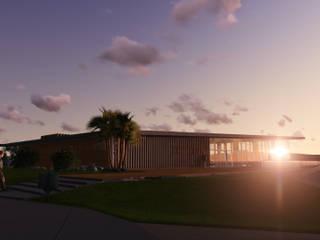 Parque Esportivo Morro Ferrabraz:   por Bendita Arquitetura,Campestre