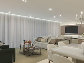 Living room by Luciano Santo arquitetura,