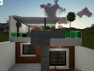 Дома в . Автор – OmaHaus Arquitectos,