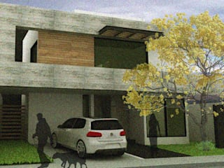 Arquimia Arquitectos Single family home Concrete Grey