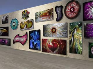 Wandbilder aus Metall: Ein außergewöhnlicher Wandschmuck aus Metall, der täglich begeistert:   von Designwerkstatt Baumgarten UG