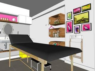 Clínica de estética por Karina Barreto arquitetura Moderno