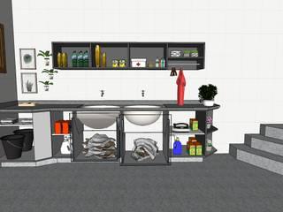 Área de serviço por Karina Barreto arquitetura Moderno
