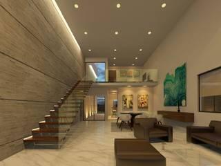 Corridor & hallway by Arq. Beatriz Gómez G.