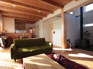 Eclectic style living room by 堺建築設計事務所 Eclectic
