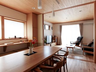 Eclectic style dining room by 堺建築設計事務所 Eclectic