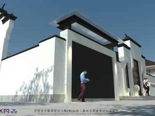 Country house by 京悅室內裝修設計工程(有)公司|真水空間建築設計居研所, Asian