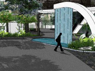 Royal Sentul Park LRT,  apartmen, mall dan ruko (mix used):   by CV. Lanskap Indonesia