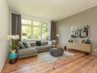 Modern living room by staged homes Modern