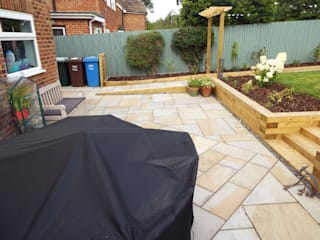 Garden makeover,  Banbury, Oxfordshire: modern Garden by Alexander John Garden Design & Maintenance