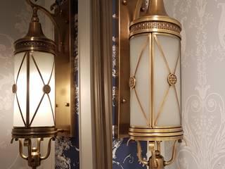 客廳銅壁燈B03-NB8056-01燈亮:   by 建鍾產業股份有限公司