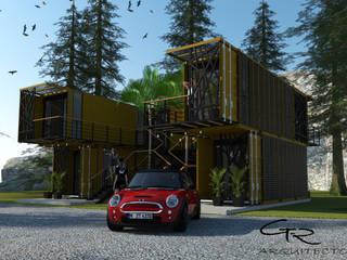 Plaza Mineral 111 Espacios comerciales de estilo moderno de GT-R Arquitectos Moderno