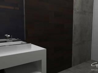 Casas de banho modernas por GT-R Arquitectos Moderno