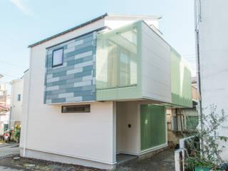 格子壁の住宅: ユウ建築設計室が手掛けた家です。,