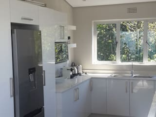 Complete Flat Overhaul, Revamp Kitchen, New Bedrooms, Tiling And Interior Painting (Sea Point, Cape Town) by CPT Painters / Painting Contractors in Cape Town